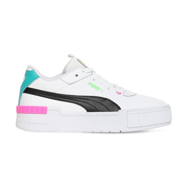 PUMA SELECT Cali sport sneakers in white,pink