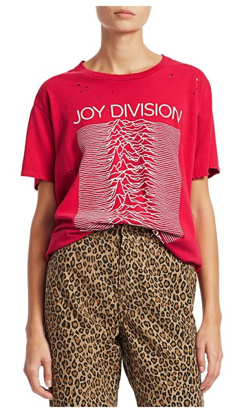 R13 Joy Division T-Shirt in red