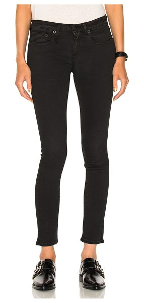 R13 Kate Skinny in black - 70% cotton 25% poly 5% lycra.  Made in Italy.  Slight...