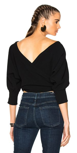 Rachel Comey Tempe Top in black - Self & Lining: 100% poly.  Made in USA.  Machine wash. ...