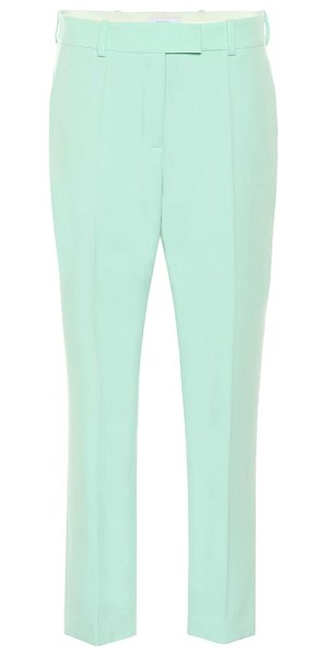 RACIL oscar wool pants in green