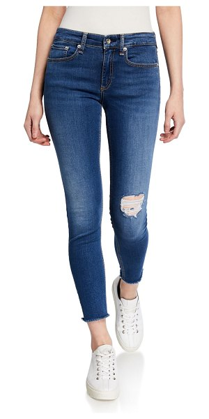 Rag & Bone Cate Mid-Rise Ankle Skinny in marion