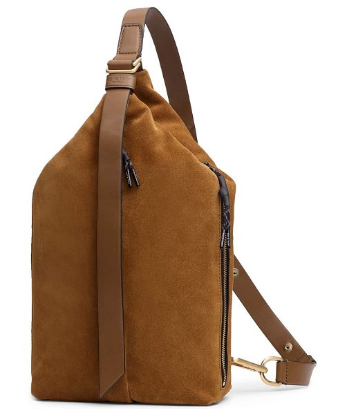 Rag & Bone hayden sling bag in hazel suede