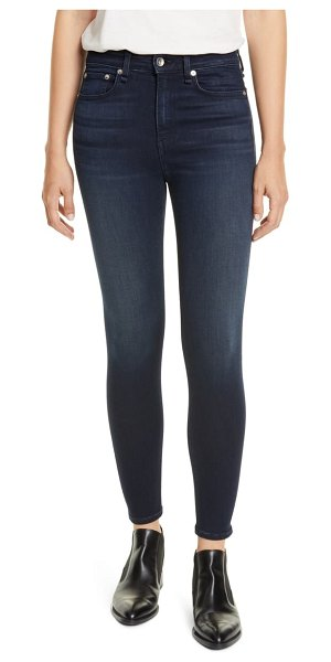 Rag & Bone nina high waist ankle skinny jeans in etta