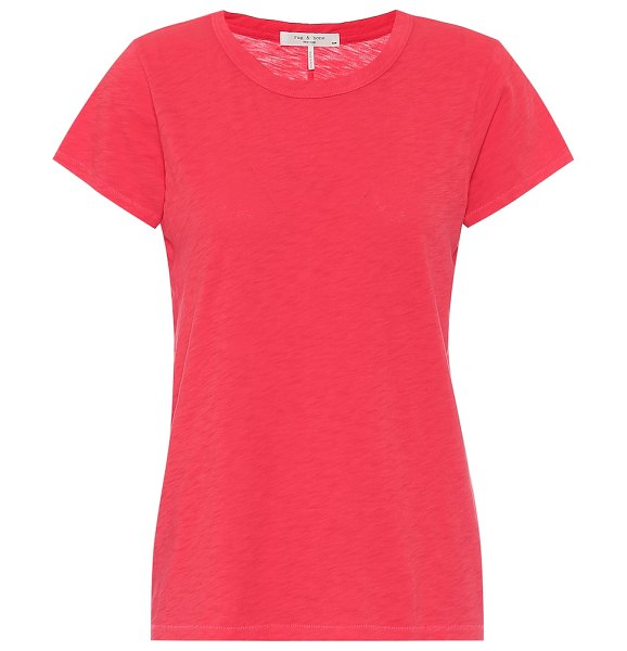 Rag & Bone the tee cotton t-shirt in red