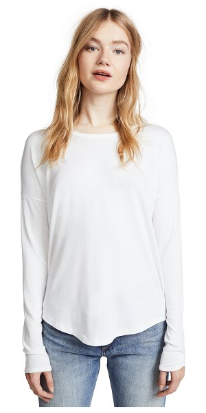 Rag & Bone hudson pullover in white