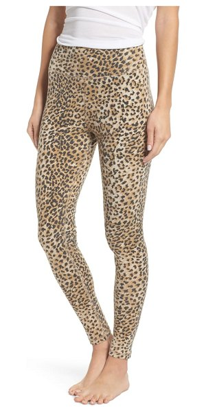 Ragdoll leopard leggings in brown leopard - Perfectly washed for a soft, lived-in feel, these...