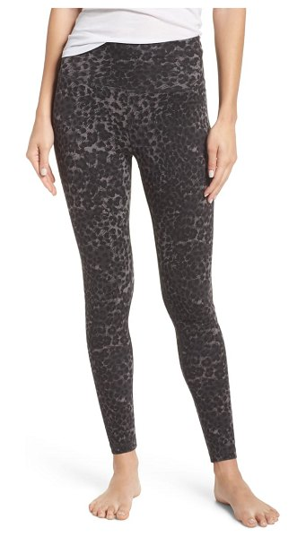 Ragdoll leopard leggings in grey - Perfectly washed for a soft, lived-in feel, these...