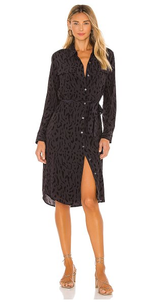 Rails alix dress in ash cheetah