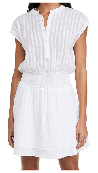 Rails angelina dress in white shadow stripe