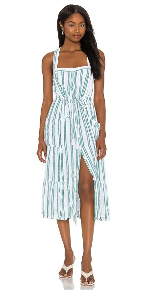 Rails cassia dress in ivy stripe