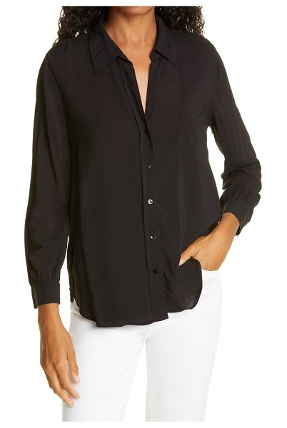 Rails noemi  button-up shirt in black