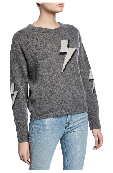 Rails Virgo Pullover Sweater in gray