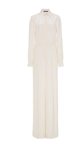 Ralph Lauren asher jumpsuit in white