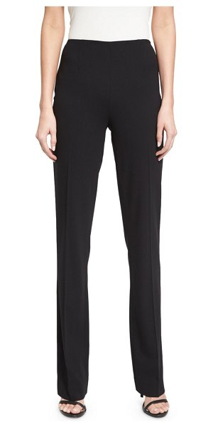 "RALPH LAUREN COLLECTION Alandra Side-Zip Stretch-Wool Pants - Ralph Lauren Collection ""Alandra"" stretch-wool pants...."