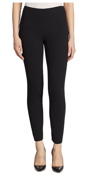 Ralph Lauren Collection annie cropped pants in black