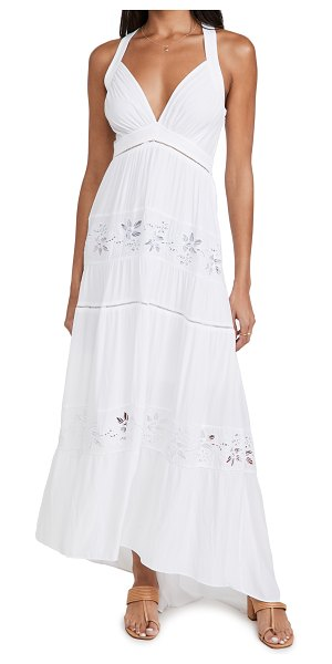Ramy Brook melanie dress in ivory