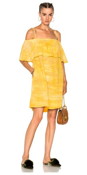 RAQUEL ALLEGRA for FWRD Cotton Gauze Mini Dress - Raquel Allegra gained instant popularity for her...