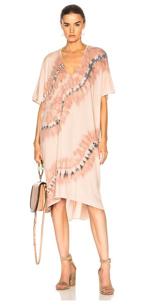 Raquel Allegra V Neck Dress in neutrals,ombre & tie dye - Raquel Allegra gained instant popularity for her...