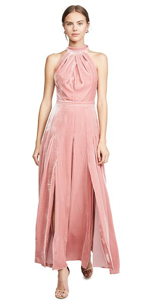 RAQUEL DINIZ amber closed back dress in pink