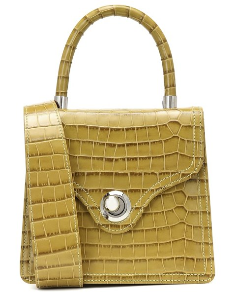 Ratio et Motus lady croc-effect leather tote in no