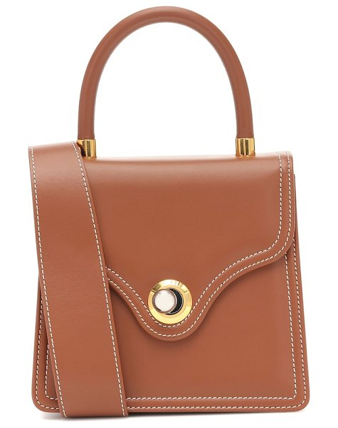 Ratio et Motus lady leather tote in brown