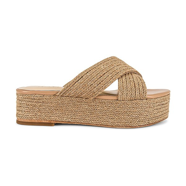 Raye tiko wedge in natural