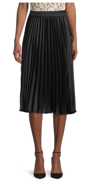 RD Style Pleated Skirt in black