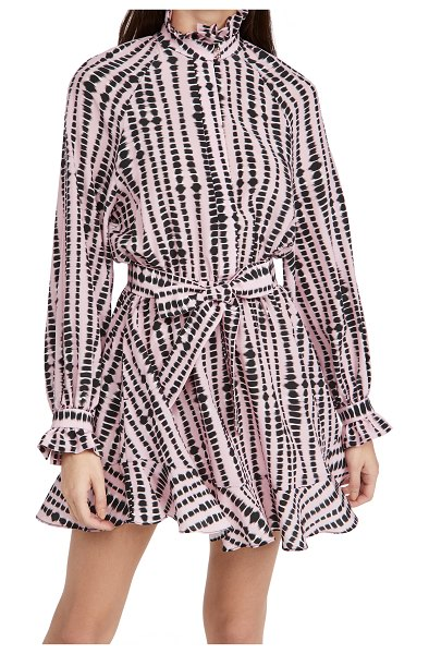 Rebecca Vallance samir mini dress in print