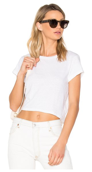 RE/DONE x hanes 1950's boxy tee in vintage white
