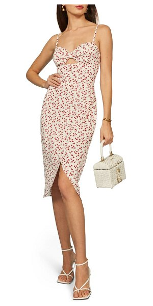REFORMATION aero floral print sundress in sophia