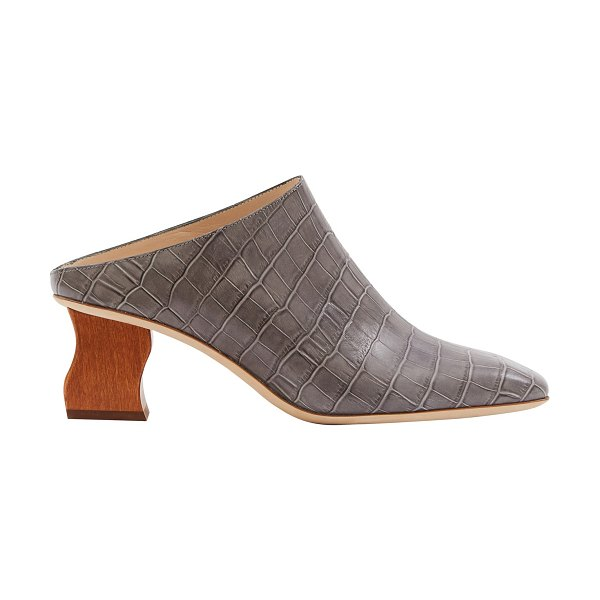 Rejina Pyo Andi mules in charcoal/honey