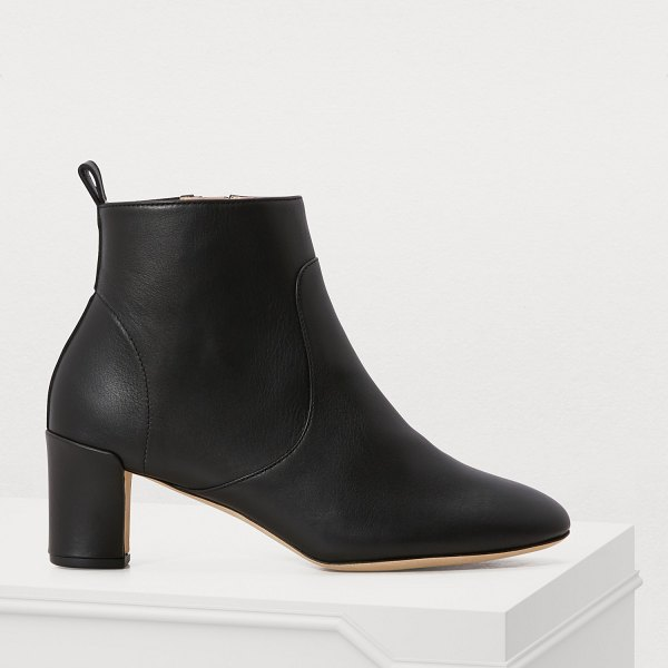 Repetto Glawdys ankle boots in noir