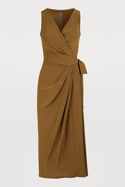 Rick Owens Limo dress in mustard