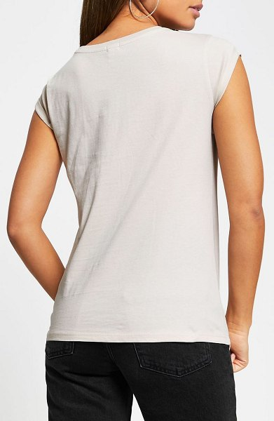 River Island 2-pack turnback t-shirts in light pink