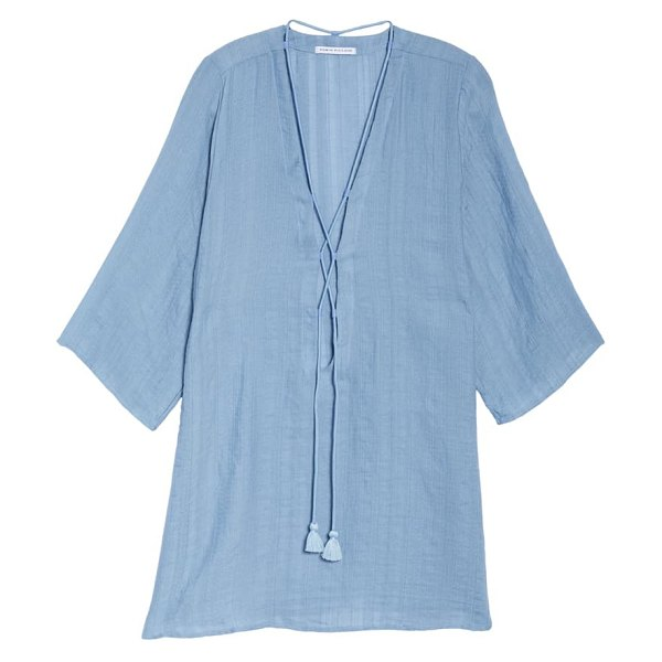 Robin Piccone michelle tunic cover-up in chambray
