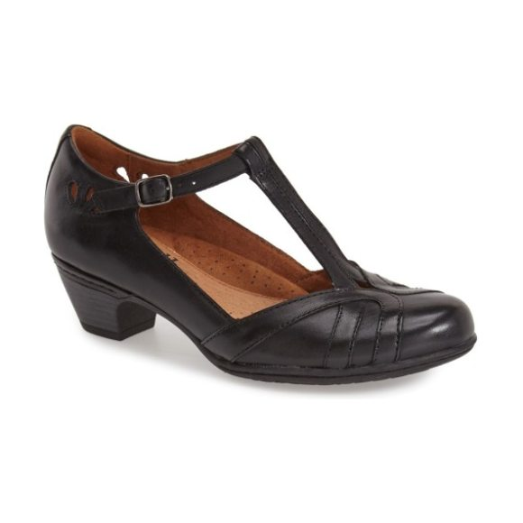 Rockport Cobb Hill 'angelina' pump in black leather