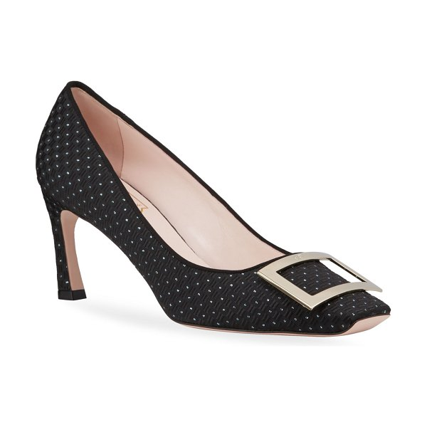 Roger Vivier Belle Trompette Pumps in black