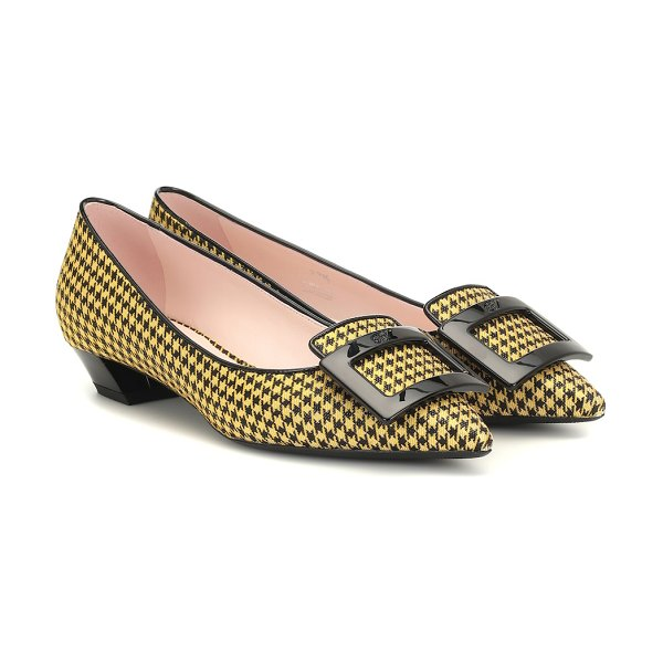 Roger Vivier exclusive to mytheresa – gommettine 25 printed pumps in yellow