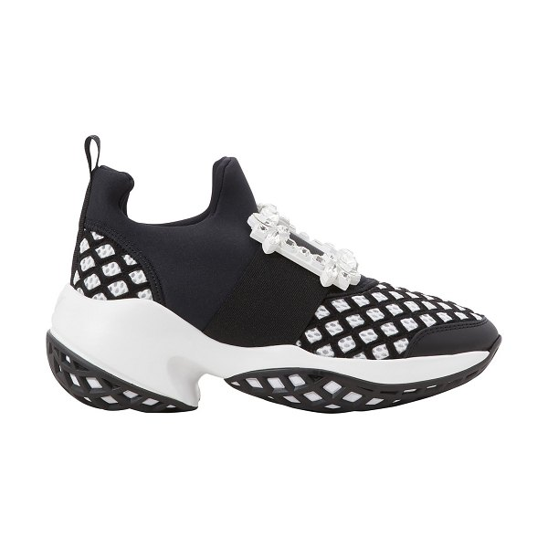 Roger Vivier Viv Run sneakers in nero bianco - These Viv Run sneakers from the Roger Vivier collection...