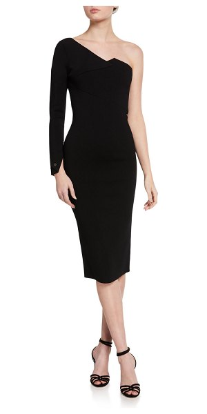 Roland Mouret Roseberry Dress in black