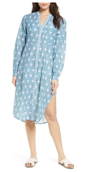 Roller Rabbit tashi rylina cover-up dress in teal
