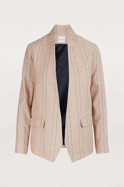 Roseanna Totem jacket in poudre