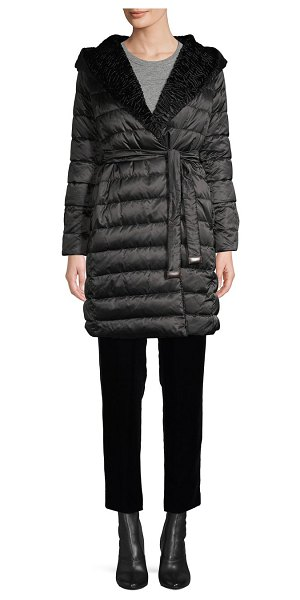 'S Max Mara Reversible Packable Down-Filled Puffer Jacket in black