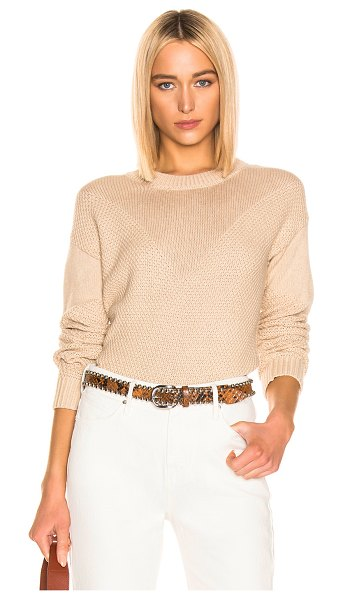 Sablyn harper sweater in camel