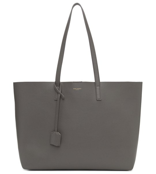 Saint Laurent grey east/west shopping tote in 2034 dkgrey