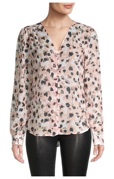 Saks Fifth Avenue Floral Top in scratch