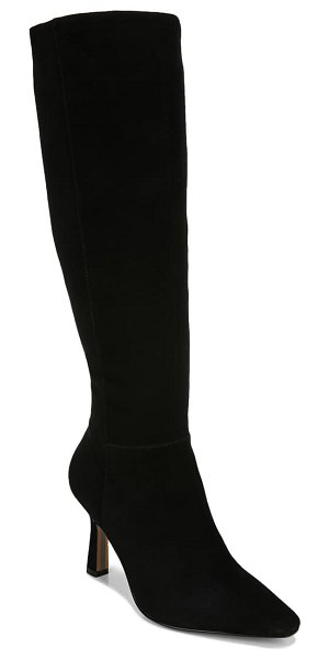 Sam Edelman davin knee high boot in black suede