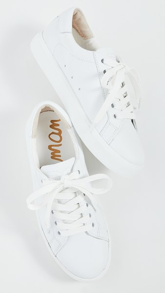 Sam Edelman ethyl sneakers in bright white