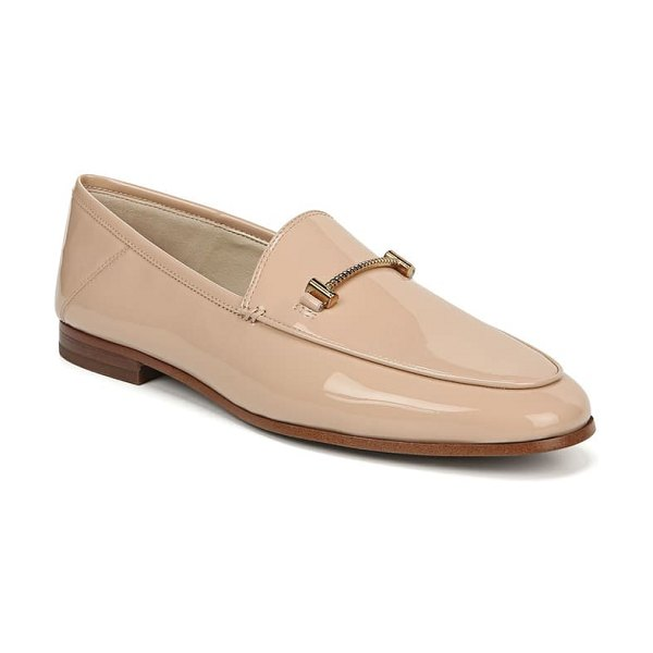 Sam Edelman lior loafer in blush nude patent faux